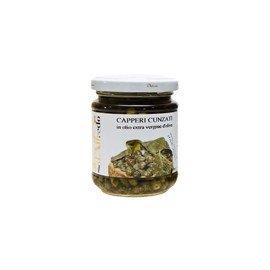 Capperi Cunzati in olio extra vergine d'oliva