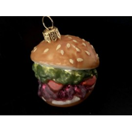 Hamburger - Decorazioni in vetro fatte a mano