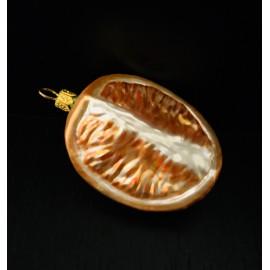 Arancia 1/4 - Decorazioni in vetro fatte a mano