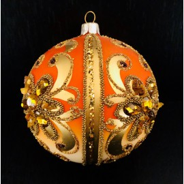 Sfere decorate - Decorazioni in vetro fatte a mano